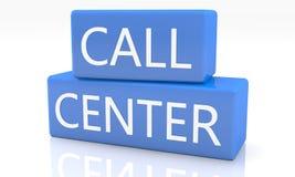 Call centre Stock Foto's