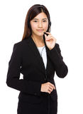 Call centre operator Royalty Free Stock Photography