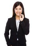Call centre operator Stock Photography