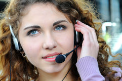 Call centre Stock Photography