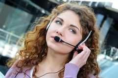 Call centre Royalty Free Stock Image