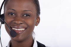 Call Centre in South Africa royalty free stock photo