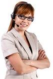 Call centrevertegenwoordiger Royalty-vrije Stock Afbeelding