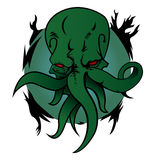 Call Of Cthulhu. Vector Illustration of monster Cthulhu Royalty Free Stock Photography