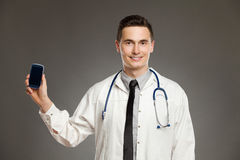 Call the doctor Stock Images