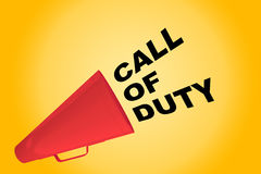 Call of Duty concept Royalty Free Stock Photos