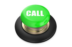 Call Green Button Royalty Free Stock Photography