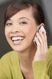call happy phone Στοκ φωτογραφία με δικαίωμα ελεύθερης χρήσης