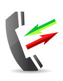 Call icon Stock Images