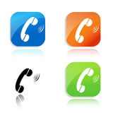 Call icon Stock Photo