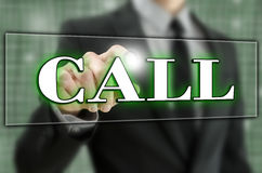 Call icon Royalty Free Stock Images