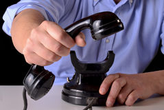 The call. Royalty Free Stock Photo