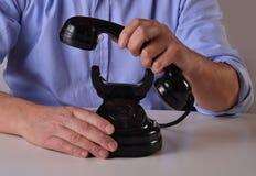 The call. Stock Photos