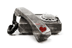 Call me! Royalty Free Stock Photography