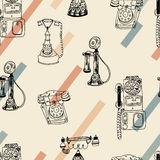 Call Me, Baby seamless  pattern. Royalty Free Stock Photography