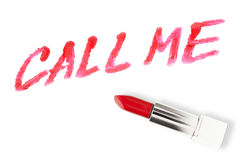 Call me concept Stock Images