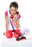 Call me! I waiting! Stock Image