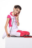Call me! I waiting! Stock Images
