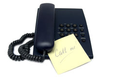 Call me memo-sticker Royalty Free Stock Images