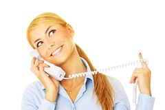 Call me! Royalty Free Stock Photo