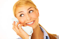 Call me! Royalty Free Stock Image