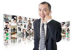 Call me sign Royalty Free Stock Images
