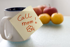 Call mom! Royalty Free Stock Photography