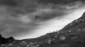 The call of the mountain. Another spontaneous image taken while on a trip Royalty Free Stock Photography