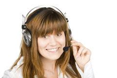 Call operator Stock Images