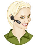 Call Operator Royalty Free Stock Images