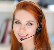 Call operator Royalty Free Stock Photos