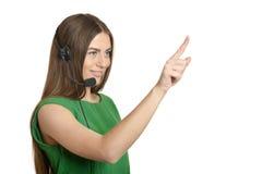 Call operator woman Stock Photos