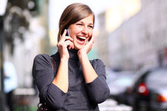 Call by phone Royalty Free Stock Images