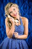Call phone Stock Image