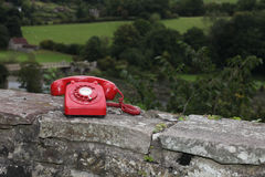 Call on the red 'phone! Royalty Free Stock Image
