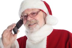 Call santa Royalty Free Stock Photos