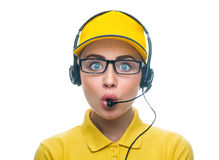 Call service operator Stock Images