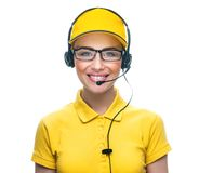 Call service operator Royalty Free Stock Photography