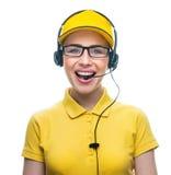 Call service operator Royalty Free Stock Photos