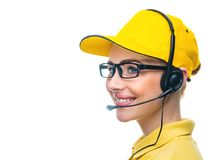 Call service operator Royalty Free Stock Images