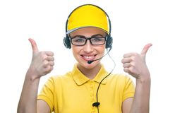 Call service operator Royalty Free Stock Photos