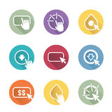Call to Action Icon Graphics Royalty Free Stock Photo