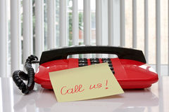 Call us! Stock Photography