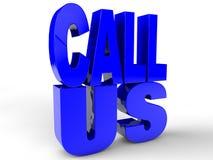 Call Us Stock Photos