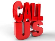 Call Us Royalty Free Stock Image