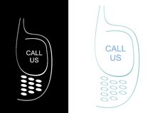 Call us - icon Stock Photos