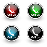Call us icon Royalty Free Stock Images