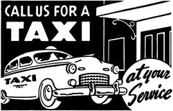 Call Us For A Taxi Royalty Free Stock Photos