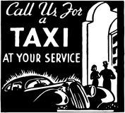 Call Us For A Taxi 3 Royalty Free Stock Images