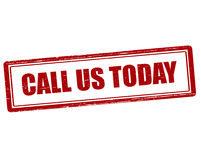 Call us today Stock Images